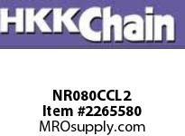 HKK 80-2 Nickel plated double strand connecting link