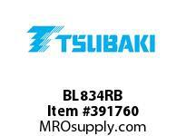 US Tsubaki BL834RB BL834 RIV 10 FT. BOX