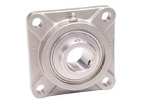 """Premium SUCSF205-16 1/"""" Stainless Steel 4 Bolt Flange Bearing"""