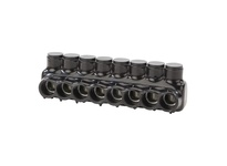 NSI IPLD350-8 350 MCM - 6 AWG POLARIS INSULATED MULTI-TAP CONN 8 PORT (DUAL SIDED ENTRY)