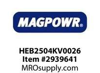 MagPowr HEB2504KV0026 HEB-250 PNEUMATIC BRAKE