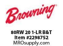 Morse MT0004 80RW 20 1-LR B&T