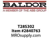 BALDOR T28S302 25 1750/2300 MC2812ATZ TEFC 500V :