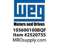 WEG 105600100BQF STEARNS BRAKE 1.5lb.ft 56C 5/8 Motores