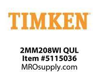 TIMKEN 2MM208WI QUL Ball P4S Super Precision
