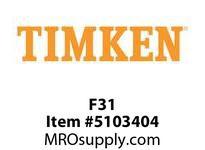 TIMKEN F31 Split CRB Housed Unit Component