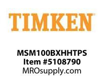 TIMKEN MSM100BXHHTPS Split CRB Housed Unit Assembly