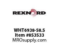 REXNORD WHT6938-58.5 WHT6938-58.5 WHT6938 58.5 INCH WIDE MATTOP CHAIN