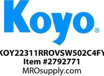Koyo Bearing 22311RROVSW502C4FY SHAKER SCREEN BEARING