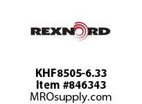 REXNORD KHF8505-6.33 KHF8505-6.33 KHF8505 6.33 INCH WIDE RUBBERTOP MA