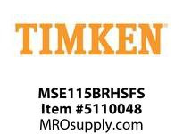 TIMKEN MSE115BRHSFS Split CRB Housed Unit Assembly