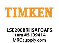 TIMKEN LSE200BRHSAFQAFS Split CRB Housed Unit Assembly