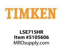 TIMKEN LSE715HR Split CRB Housed Unit Component