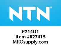 NTN P214D1 CAST HOUSING