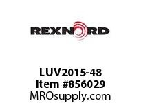 REXNORD LUV2015-48 LUV2015-48 PES ROD LUV2015 48 INCH WIDE MATTOP CHAIN W