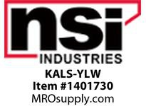 NSI KALS-YLW KEYED ALIKE MASTER LOCK COLOR CODE YELLOW 2^ SHACKLE