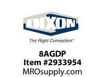 """DIXON 8AGDP 1"""" AG-SERIES DUST PLUG 270052-8"""