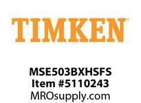 TIMKEN MSE503BXHSFS Split CRB Housed Unit Assembly