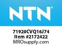 NTN 71920CVQ16J74 Ball Brg