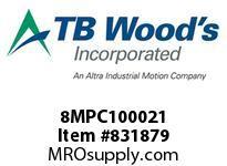 TBWOODS 8MPC100021 8MPC-1000-21 QTPCII BELT