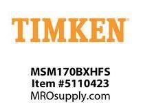 TIMKEN MSM170BXHFS Split CRB Housed Unit Assembly