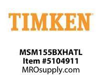 TIMKEN MSM155BXHATL Split CRB Housed Unit Assembly