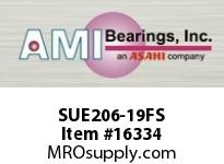 AMI SUE206-19FS 1-3/16 NORMAL WIDE CYL O.D. ACCU-LO RING FREE SPINNING