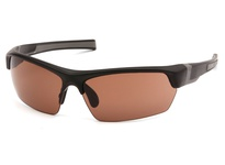 Pyramex VGSB318T Tensaw Black Frame/Bronze Anti-Fog Lens Tensaw exceeds ANSI Z87.1 High Impact Requirements