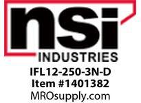 NSI IFL12-250-3N-D INSULATED FLAG TERMINALS 12-10 .250 x .032 TAB PK 50