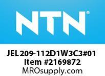 NTN JEL209-112D1W3C3#01 Insert Brg (Standard)