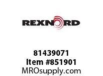 REXNORD 81439071 WHT8506-12MTW F.25 T20P