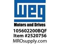 WEG 105602200BQF STEARNS BRAKE 6lb.ft 56C 5/8^ Motores