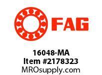 FAG 16048-MA RADIAL DEEP GROOVE BALL BEARINGS