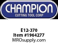 Champion E12-370 CARB TIPPED THREADING TOOL