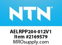 NTN AELRPP204-012V1 MOUNTED UNIT (STEEL)