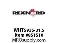 REXNORD WHT5935-31.5 WHT5935-31.5 WHT5935 31.5 INCH WIDE MATTOP CHAIN
