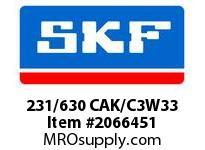 SKF-Bearing 231/630 CAK/C3W33