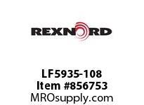 REXNORD LF5935-108 LF5935-108 LF5935 108 INCH WIDE MATTOP CHAIN W