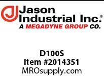 Jason D100S 1D SS COUPLER X F NPT