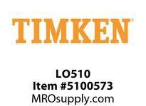 TIMKEN LO510 SRB Plummer Block Component