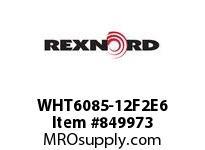 REXNORD WHT6085-12F2E6 WHT6085-12 F2 T6P WHT6085 12 INCH WIDE MATTOP CHAIN W