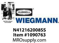 WIEGMANN N412162008SS N4XSDSS16X20X8