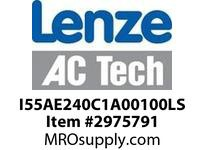 ACTech-Lenze I55AE240C1A00100LS i550 Inverter ProfiNet Std I/O STO 5.0 HP 3ph 240V (IP20) Standard Inverter Drive