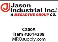 Jason C200A 2C AL COUPLER X SHANK