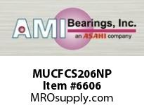 AMI MUCFCS206NP 30MM STAINLESS SET SCREW NICKEL PIL BEARING W/NICKEL PLTD HS