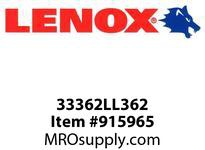 Lenox 33362LL362 LEADER BITS-LL362 LEADER 3 5/8 92MM 1/PK-LL362 LEADER 3 5/8 92MM 1X- LEADER 3 5/8 92MM 1/PK-LL362 LEADER 3 5/8 92MM 1X-