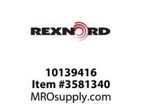 REXNORD 10139416 SS881TAB-3.25IN  Legacy part no.: 765.31.311