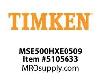 TIMKEN MSE500HXE0509 Split CRB Housed Unit Component