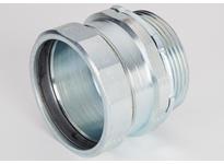 """Bridgeport 256-US 2-1/2"""" USA steel EMT compression connector"""