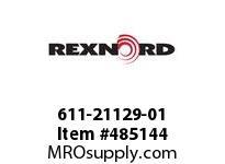 REXNORD 611-21129-01 5X17 IMP G/SL R/G PRE97-B 6403582